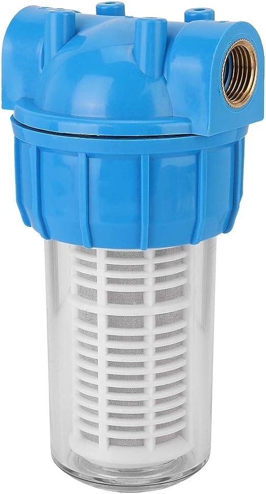 Eastbuy Purificador de agua – G1/2 pulgadas Prefiltro Backwash Central filtros de agua purificador de grifo agua Prefiltro Sedimento Filtro: Amazon.es: Hogar