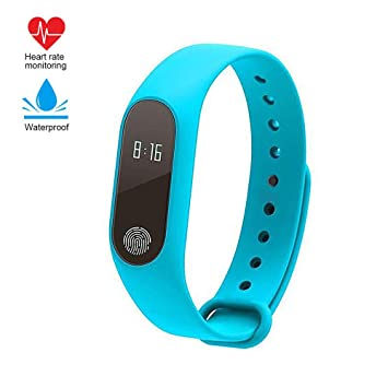 Fitness Tracker, impermeable M2 Step Activity Tracker con monitor ...