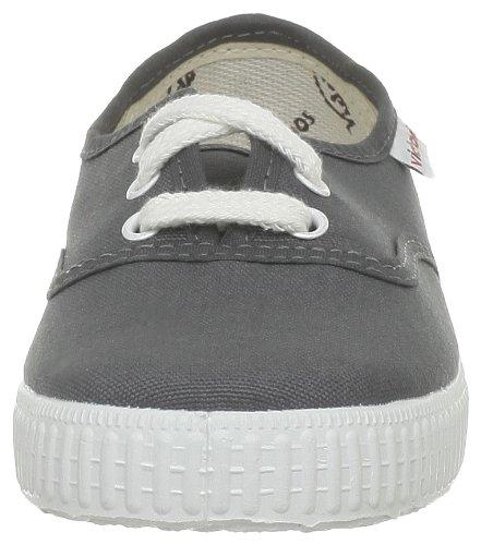 Calego Inglesa Lona3 - Zapatos de tela unisex Gris (Gris (Anthracita))