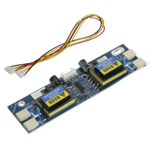 SODIAL(R) Universal CCFL Inverter LCD Laptop Monitor 4 Lamp 10-29V for 15-22