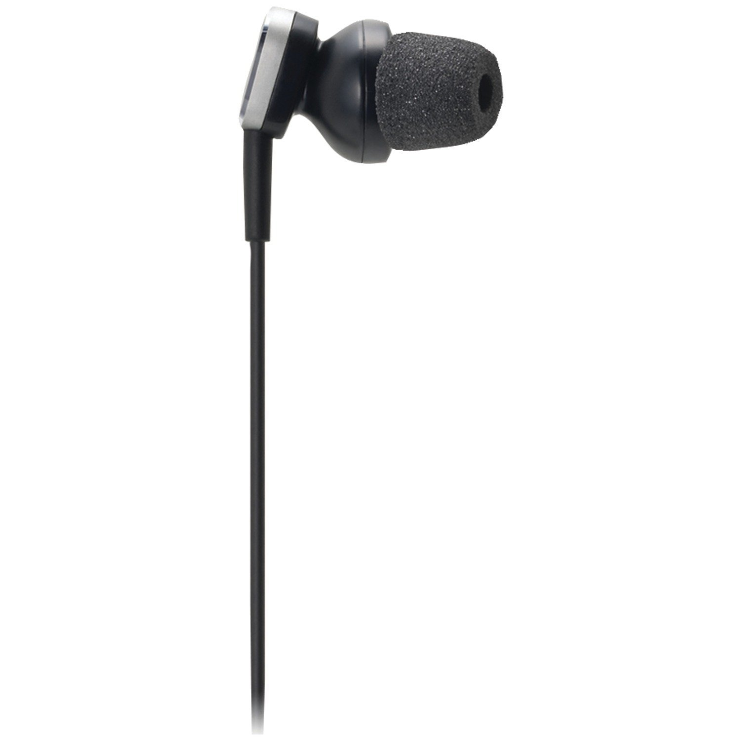 Audio-Technica ATH-ANC23 QuietPoint Active Noise-Cancelling In-Ear Headphones (Certified Refurbished)