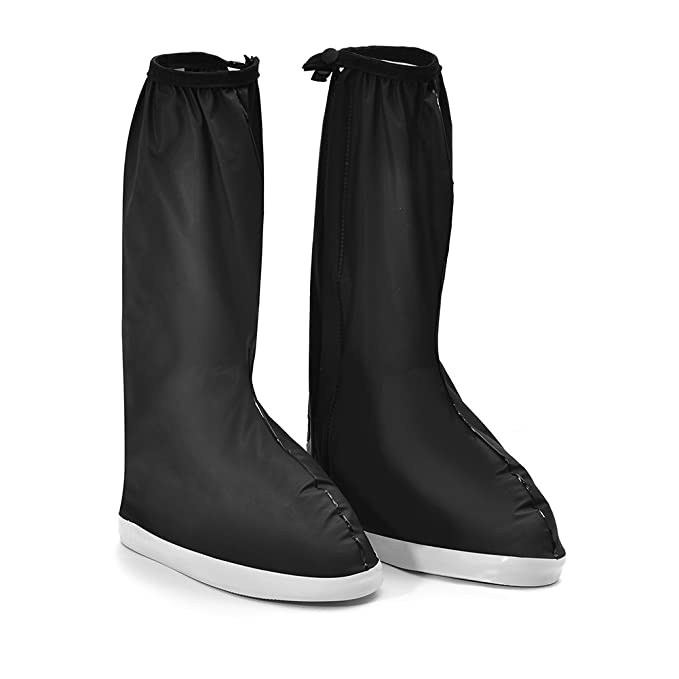 c672ab96611d9 Potato001 Unisex Reusable Portable Outdoor Anti Slip Rain Shoes ...