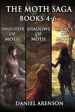 book cover of The Moth Saga: Books 4-6