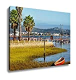 Ashley Canvas, View Over The Lake On Knysna South Africa, Home Decoration Office, Ready to Hang, 20x25, AG6316225