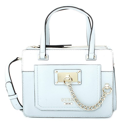 Guess Tasche Little Status Satchel Ice Blue