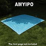 AMYIPO S M L XL Size Waterproof Camping Sunproof Shelter Tent Tarp Footprint Groundsheet Blanket Mat for Outdoor Picnics