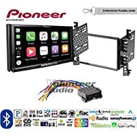 Volunteer Audio Pioneer AVH-W4400NEX Double Din Radio Install Kit with Wireless Apple CarPlay, Android Auto, Bluetooth Fits 2001-2006 Hyundai Elantra