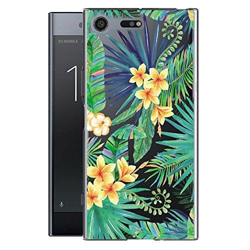 Funda para Sony Xperia XZ1 (No se aplica a Sony Xperia XZ1 Compact) , IJIA Transparente Expresión Fría (DONT TOUCH MY PHONE) TPU Silicona Suave Cover Tapa Caso Parachoques Carcasa Cubierta para Sony  WM96