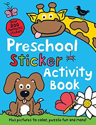 Preschool Color Activity Book by Priddy Books