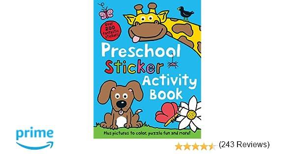 Preschool Color & Activity Book: Roger Priddy: 9780312513177 ...