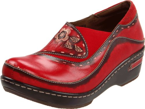 Spring Piel Step Para Rojo Mujer De Bailarinas vqzTv