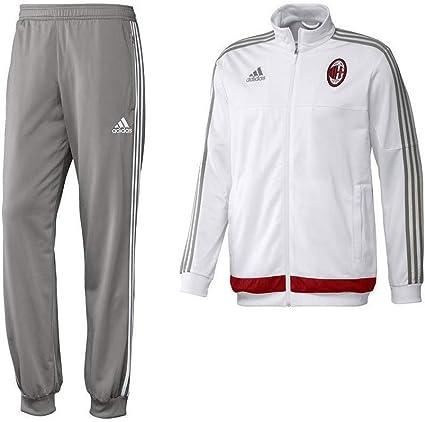 adidas Survêtement Milan AC blanc Football Garçon: