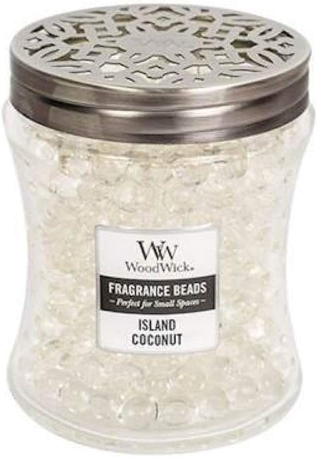 ISLAND COCONUT WoodWick Fragrance Beads Room Diffuser