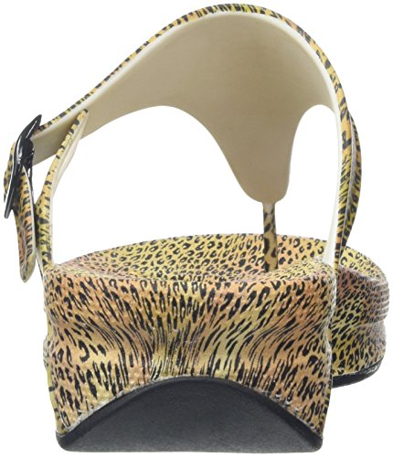 Fitflop Superjelly Leopard - Sandalias Mujer Multicolor (Cheetah)