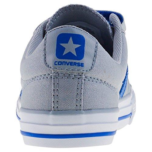 Converse Star Player Ev 3v OX Wolf Grey, Zapatillas Unisex Niños gris