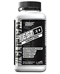 TESTED is a clinically dosed free testosterone and libido supporting formula. Testosterone functions as a highly anabolic hormone in the body. TESTED has patented LJ100 that has shown to increase and support free testosterone. If building mus...