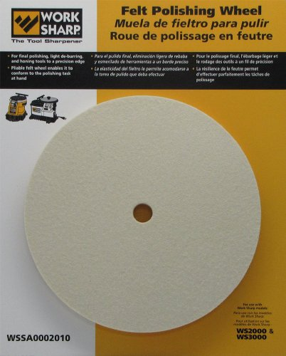 Work Sharp WSSA0002010 Felt Polishing Wheel ()