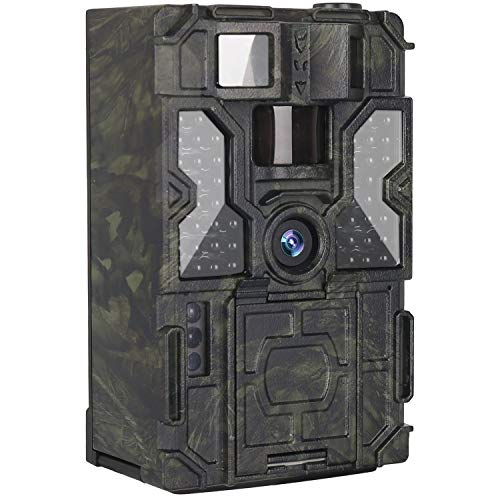 Kuool T3 Trail Camera with Night Vision Motion Activated 48pcs 850NM IR LEDs,1080P 16MP Wildlife Hunting Game Cam,3 Trigger Sensors 0.2s IP65 For Sale