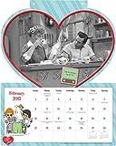 I Love Lucy Die Cut Wall Calendar (2015)