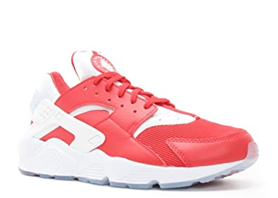 meet 47886 5993c Nike Mens Air Huarache Red White Milano City Pack Trainer Size 10 UK