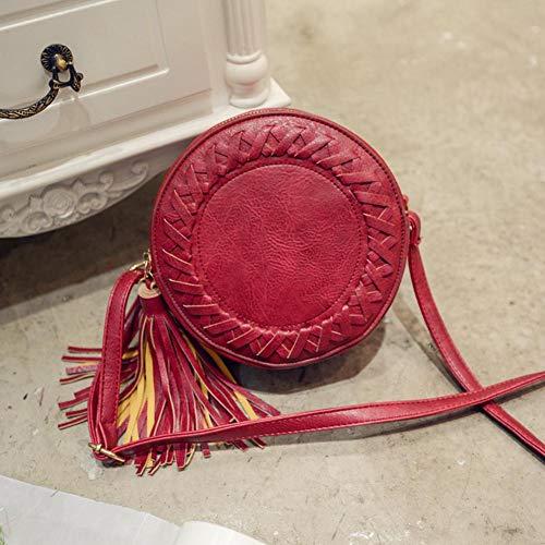 Unique Taille Femme Red À Porter Sac Jocestyle L'épaule Pour Ewq680