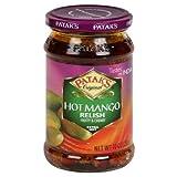 Patak B85673 Pataks Hot Mango Relish -1 jar of 10oz