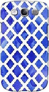 DailyObjects Cobalt Blue Watercolour Diamonds Case For Samsung Galaxy S3 Blue