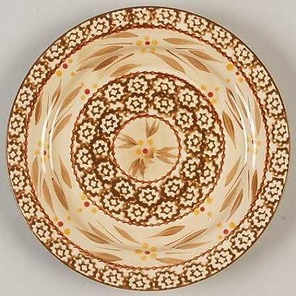 Temp-Tations Old World-Brown Salad Plate Fine China Dinnerware  sc 1 st  Amazon.com & Amazon.com   Temp-Tations Old World-Brown Salad Plate Fine China ...
