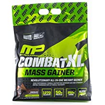Musclepharm Combat XL Mass Gainer Powder, Chocolate, 12 lb