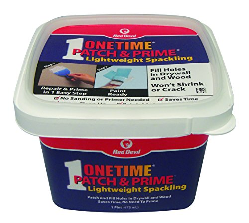 - Red Devil 0540 Onetime Patch and Prime Spackling