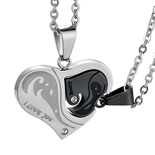 FIBO STEEL Stainless Pendant Necklace