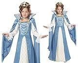 California Costumes Renaissance Queen Child Costume
