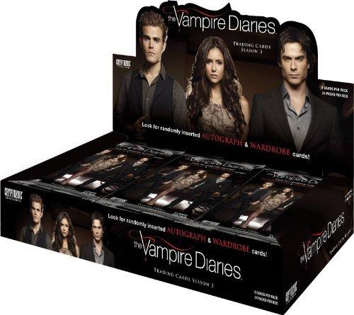 Vampire Diaries Season Three (3) - One One One Factory Sealed Trading Card Box by Vampire Diaries e457b3