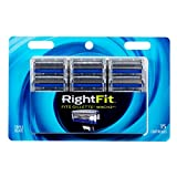 Personna Right Fit Mach3 Compatible 15 Refill Razor Blade Cartridges – Compatible with all Mach 3 razors – Triple Coated Razor Blade Edges For A Smooth Shave