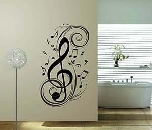 M sica homemay virus de pared decoraci n de la pared - Amazon decoracion pared ...