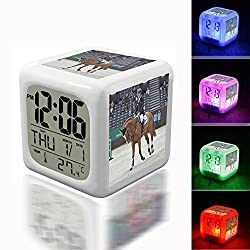 Wake Up Alarm Thermometer Night Glowing Cube 7 Colors Clock LED for Bedroom&Table,School Desk Customize 110. CHI Genève 2013 - 20131212 - Marcus Ehning et F