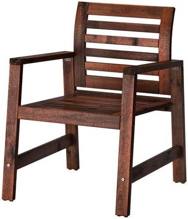 Sedie E Tavoli Da Esterno Ikea.Ikea Applaro 202 085 27 Poltrona Da Esterno Colore Marrone