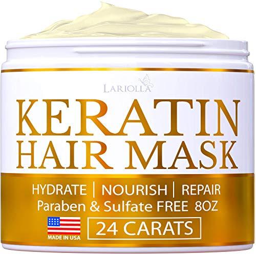 Keratin Hair Mask Repairs