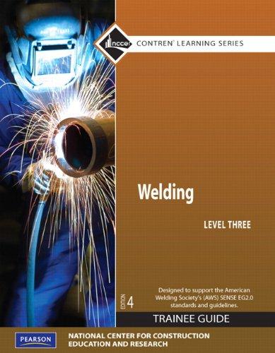 Welding,Level 3:Trainee Guide