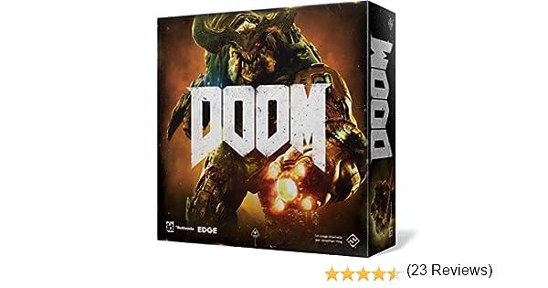 Fantasy Flight Games Doom El Juego de Tablero (FFZX01): Amazon.es: Juguetes y juegos
