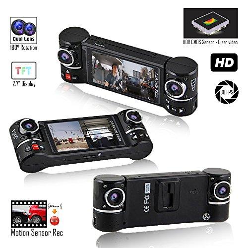 inDigi DCam-f600-02 Black Accident Camera