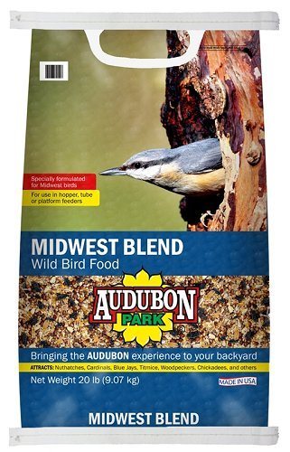 Global Harvest Foods 12376 Food Bird Midwest Blend, 20 lb