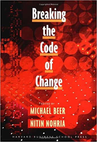 Book Breaking the Code of Change (Colloquia)