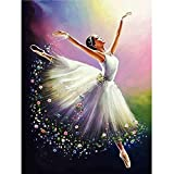 5d Diamond Embroidery Ballerina Girl Diamond Arts Cross Stitch DIY Diamond Painting Olifant Rhinestones Square Drill Needlework