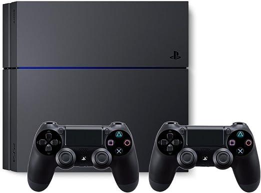 PlayStation 4 - Consola de 500 GB + 2 Mandos DualShock 4: Amazon ...