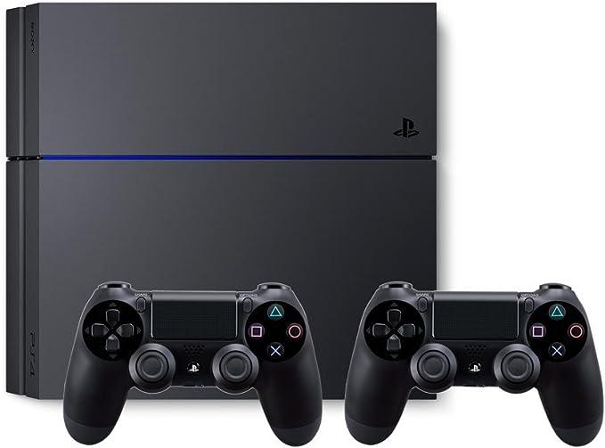 PlayStation 4 - Consola de 500 GB + 2 Mandos DualShock 4: Amazon.es: Videojuegos