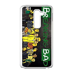 Unique Design Cases Kgqwy LG G2 Cell Phone Case Breaking Bad TV Drama Printed Cover Protector
