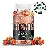 Organic Hemp Gummies - 300MG (10MG/Gummy) - Sweet & Sour - Mood Support & Better Sleep - Made with Organic Colorado Hemp, Rich in Omega 3-6-9 & Vitamin E, Non-GMO, Vegan.