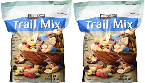Signature Trail Mix, Peanuts, M and M Candies, Raisins, Almonds and Cashews, 4 Pound (249965) Pack of 2