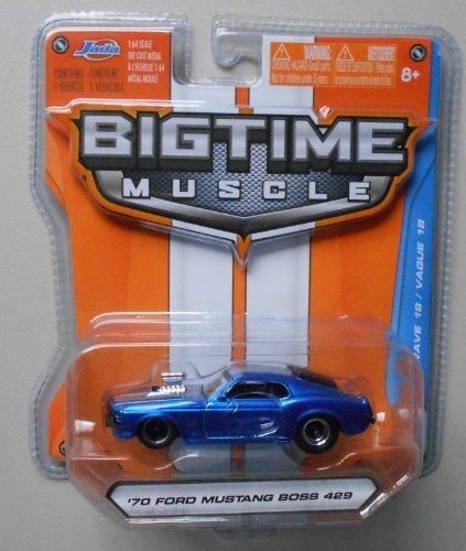 Jada Bigtime Muscle 1/64 Blue '70 Ford Mustang Boss 429